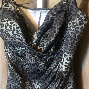 croft & barrow Swim - Plus size animal print swim suit